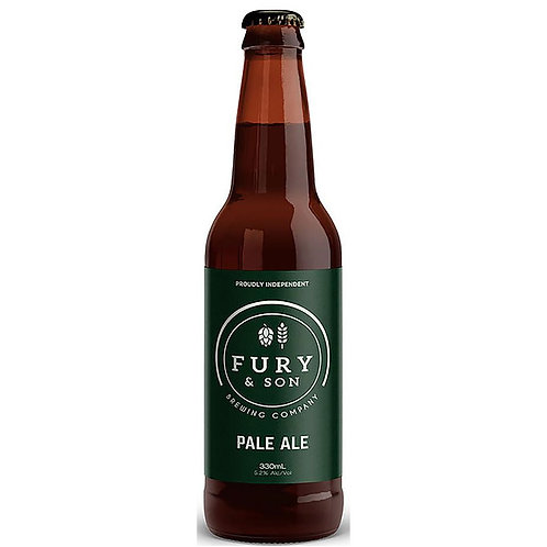 Fury & Son Brewing Pale Ale 5.2% Btl 330mL
