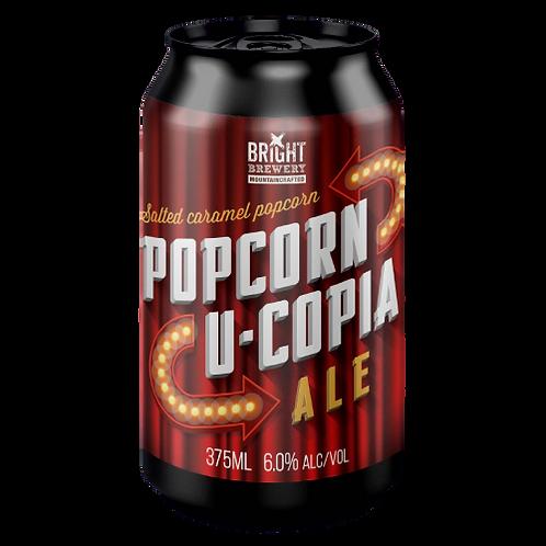 Bright Brewery Popcorn U - Copia Ale 6% Can 375mL