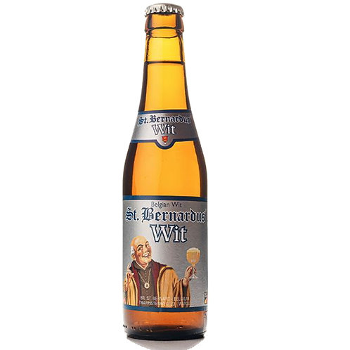 St Bernardus Wit Beer 5.5& Btl 330mL