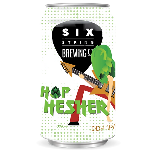 Six String Hop Hesher DDH IPA 5.5% Can 375mL