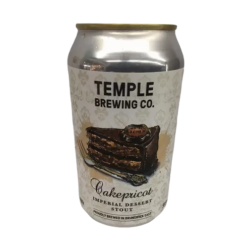 Temple Brewing Co Cakepricot Imperial Dessert Stout 9.2% Can 355mL