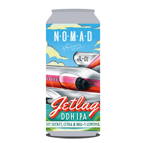 Nomad Jetlag-01 DDH Hazy IPA 6.5% 440mL