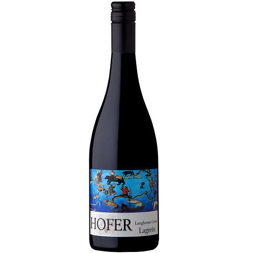 Hofer 2017 Langhorne Creek Lagrein Btl 750mL