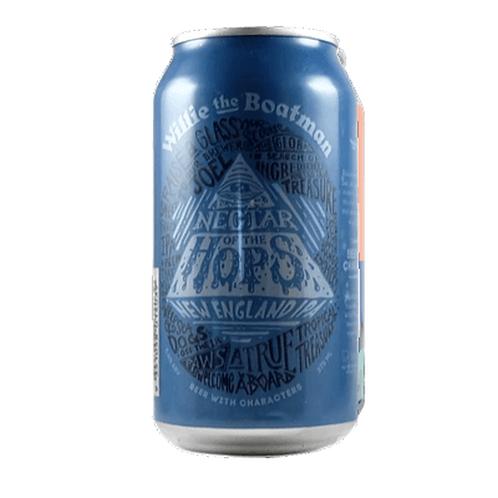Willie the Boatman Nectar of the Hops NEIPA 5.8% Can 375mL