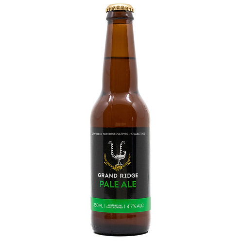 Grand Ridge Pale Ale 4.7% Btl 330mL