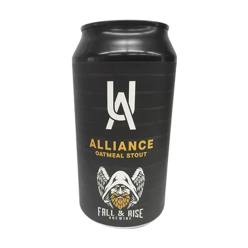 Fall & Rise / Urban Alley Alliance Oatmeal Stout 6% Can 375mL