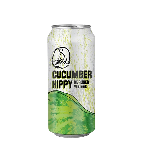 8 Wired Cucumber Hippy Berliner Weisse 4% Can 440mL