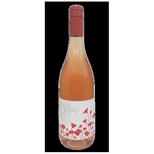 Summer Poppy 2017 Gisborne Rose Btl 750mL