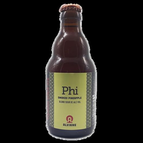 Alvinne Phi Smoked Pineapple Blond Sour 8% Btl 330mL