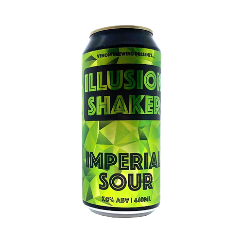 Venom Brewing Illusion Shaker Imperial Sour 7% Can 440mL