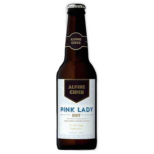 Alpine Cider Pink Lady Dry 5.9% Btl 330mL