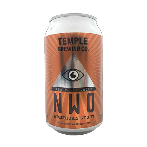 Temple Brewing New World American Stout 6.5% Can 355mL