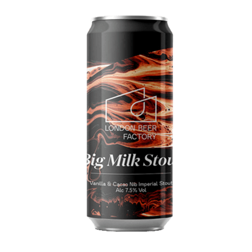 London Beer Factory Big Milk Stout 7.5% Can 440mL