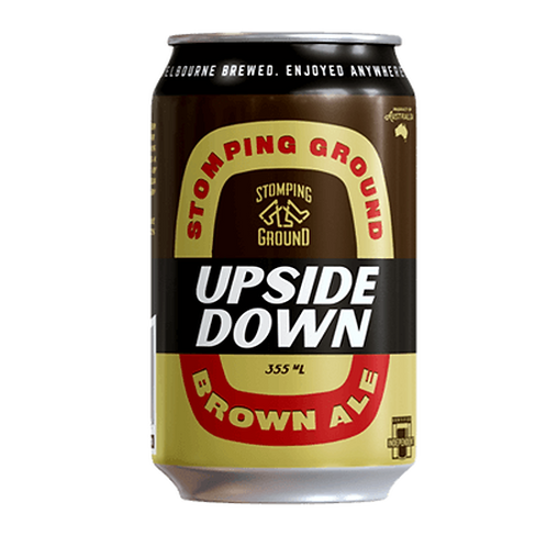 Stomping Ground Brown Ale Upside Down 5.2% Can 355mL