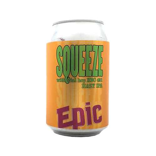 Epic Squeeze Hazy IPA 6.3% Can 330mL