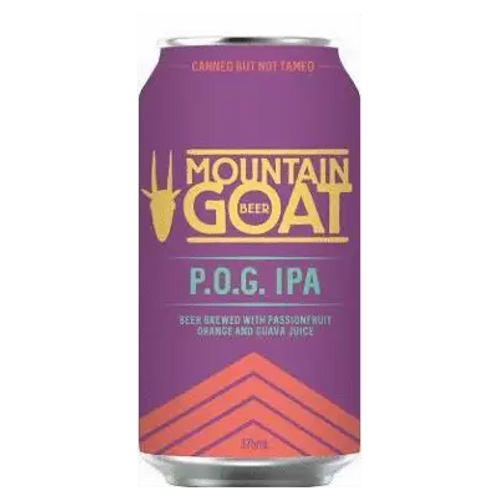 Mountain Goat POG Juice IPA 7% Can 375mL