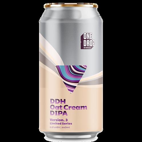 One Drop Brewing DDH Oat Cream DIPA V3 6.8% Can 440mL