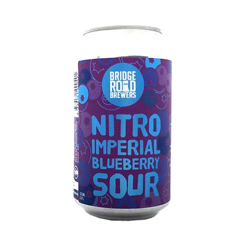 Bridge Road Nitro Imperial Blueberry Sour 6% Can 355mL