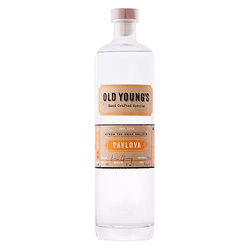 Old Young's Pavlova Vodka 40% Btl 700mL