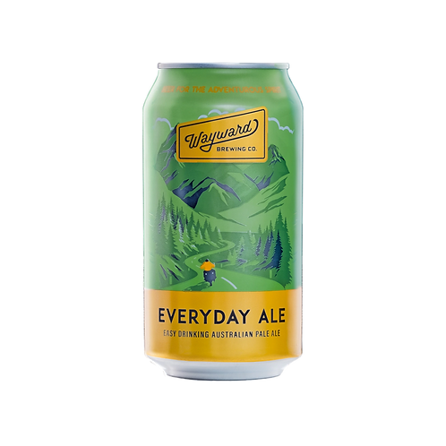 Wayward Brewing Everyday Pale Ale 4.02% Can 375mL