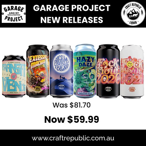 Garage Project New Releases 2021  6Pack