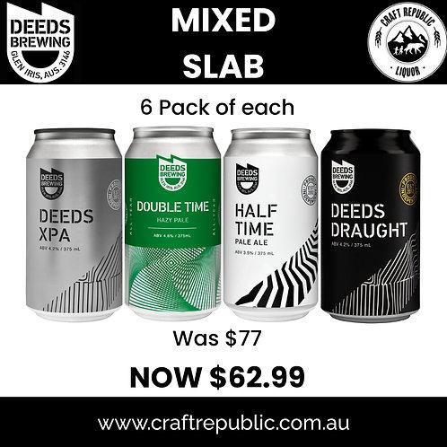 Deeds Brewing Mixed Slab 24 x 375mL
