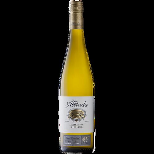Allinda Winery 2016 Yarra Valley Riesling Btl 750mL