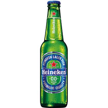 Heineken Premium Blue Lager 0.00% Btl 330mL