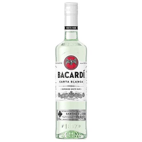 Bacardi Carta Blanca Rum Btl 750mL