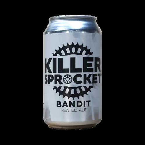 Killer Sprocket Bandit Peated Ale 4.8% Can 375mL