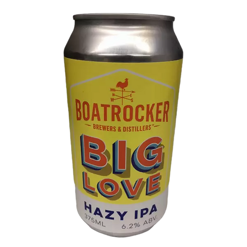 Boatrocker Big Love Hazy IPA 6.2% Can 375mL