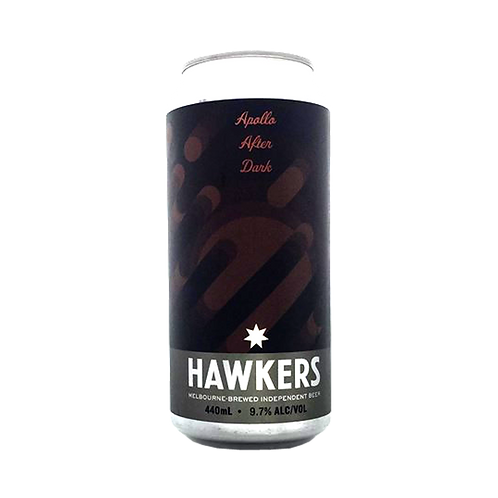 Hawkers Beer Apollo After Dark Stout 9.7% Can 440mL