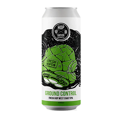 Hop Nation Ground Control Fresh Hop West Coast IPA 7% 440mL