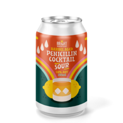 Bright Brewery BA  Penicillin Cocktail Sour 7% Can 355mL