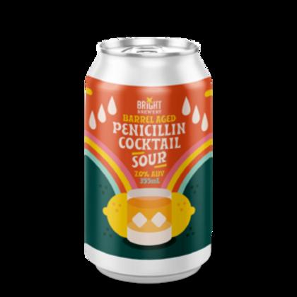 Bright Sour BA Penicillin Cocktail 7% Can 355mL