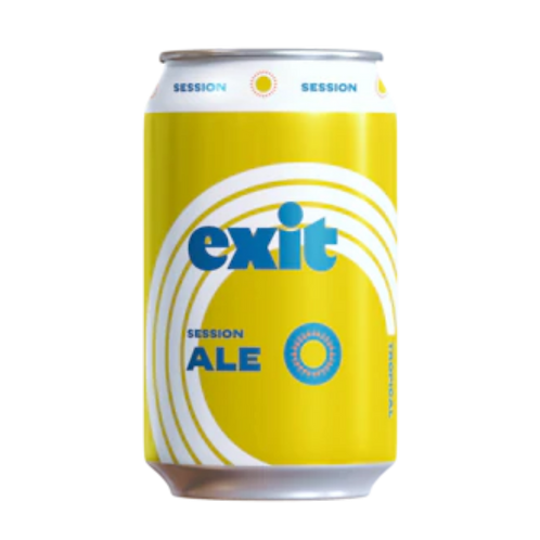 Exit Brewing Session Ale 3.5% Can 375mL