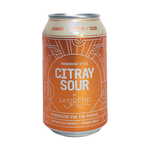 La Sirene Citray Sour 4.5% Can 330mL