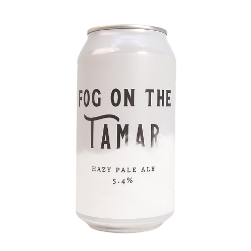 Miners Gold Fog on the Tamar Hazy Pale Ale 5.4% Can 375mL