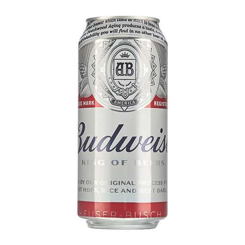 Budweiser King of Beer (UK) 4.5% Can 500mL