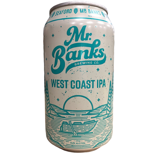 Mr Banks West Coast IPA 6.2% Can 355mL