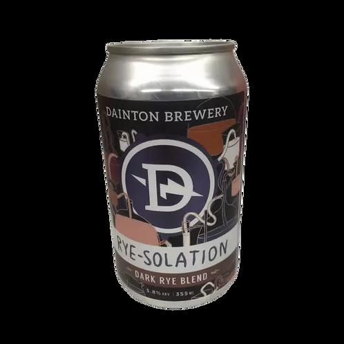 Dainton Brewery Rye-Solation Dark Rye Blend 5.8% Can 355mL