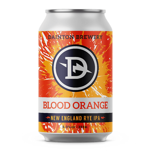 Dainton Brewery Blood Orange New England Rye IPA 6% Can 355mL