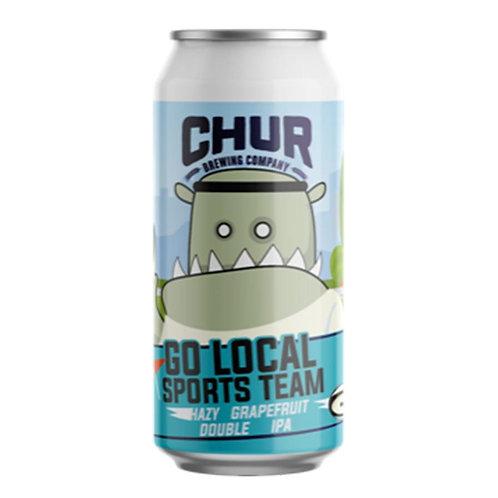 Chur Brewing Go Local Sports Team Hazy Grapefruit DIPA 8% Can 440mL