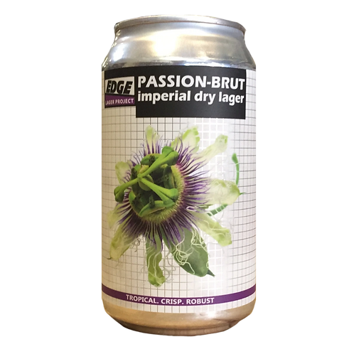 Edge Brewing Passiom - Brut Imperial Dry Lager 7% Can 355mL