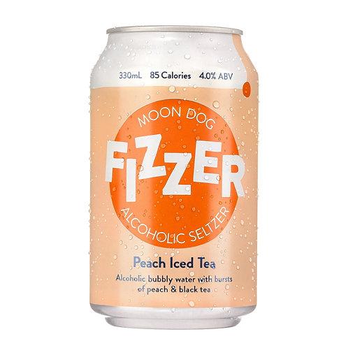 Fizzer Peach Iced Tea Seltzer 4% 330mL