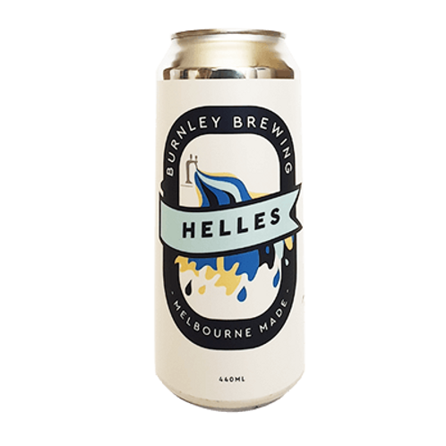 Burnley Brewing Helles German Lager 4.5% Can 440mL