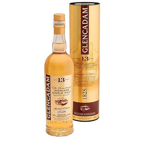 Glencadam 13 Year Old Single Malt Scotch Whisky 46% 700mL