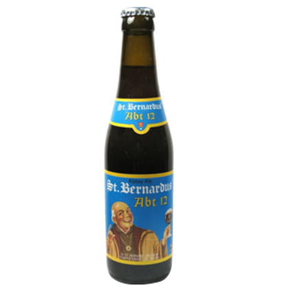 St Bernardus Abt 12 Extra Strong Beer 10% Btl 330mL