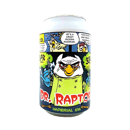 Uiltje Brewing Co Dr Raptor Imperial IPA 9.2% Can 330mL