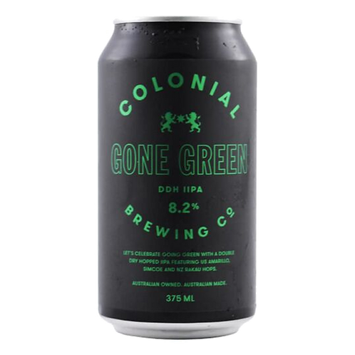 Colonial Gone Green IPA DDH DIPA 8.2% Can 375mL